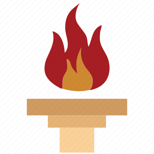 fire, flame, olympic flame, olympic torch, olympics, torch icon