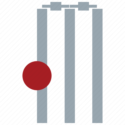 bails, ball, cricket, cricket ball, stumps, wicket icon
