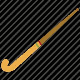 hockey, hockey stick, sports, stick icon