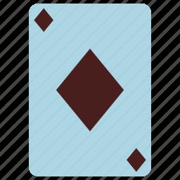 card, casino, diamonds, diamonds card, game, playing card, poker icon