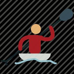 boat, boating, canoeing, kayaking, olympic, sailing, sports icon