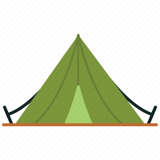 camp, camping, hiking, hiking camp, shelter, tent icon