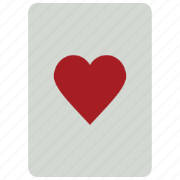 card, casino, game, hearts, hearts card, playing card, poker icon