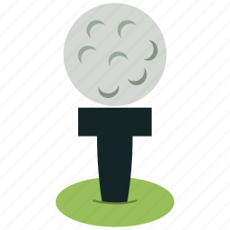 golf, golf ball, golf course, sports icon