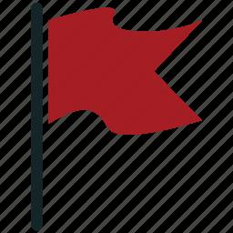 flag, plane flag, sports flag icon
