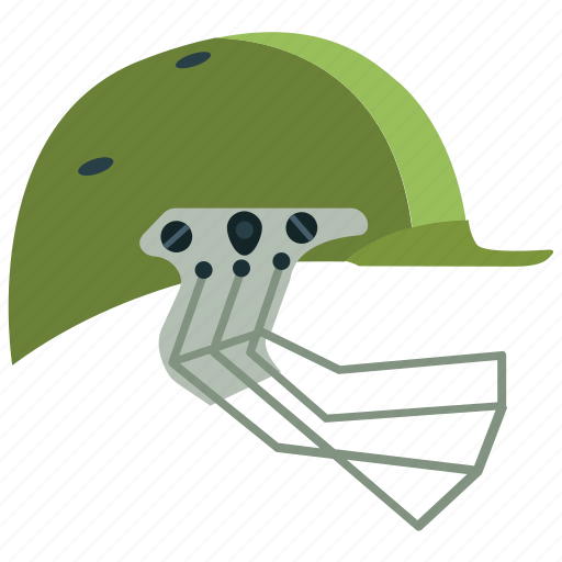 cricket, cricket helmet, helmet, protection, safety, sports icon