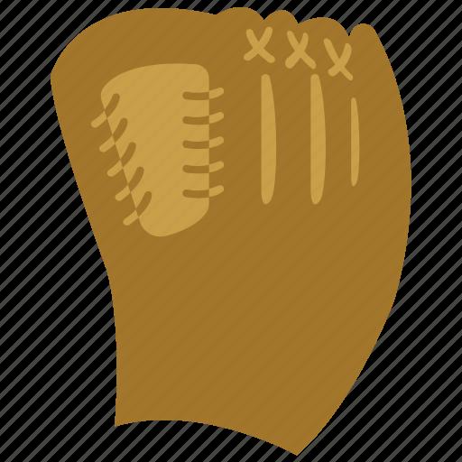 baseball, baseball mitt, mitt, sports icon