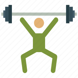 gym, sports, weight, weightlifter, weightlifting icon