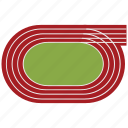 race, race track, racing, racing track, sports, track icon