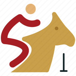 equestrianism, horse rider, horse riding, horseback riding, rider, riding, sports icon