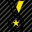 award, badge, gold, medal, prize, reward, sports
