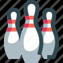 bowling, pins, pin, game