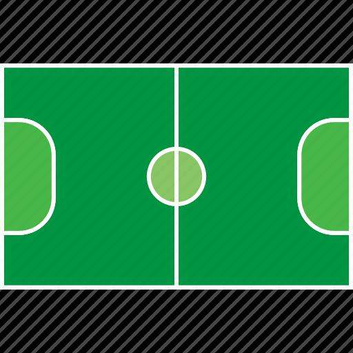 athletic, ball, field, futsal, games, olympic, sport icon
