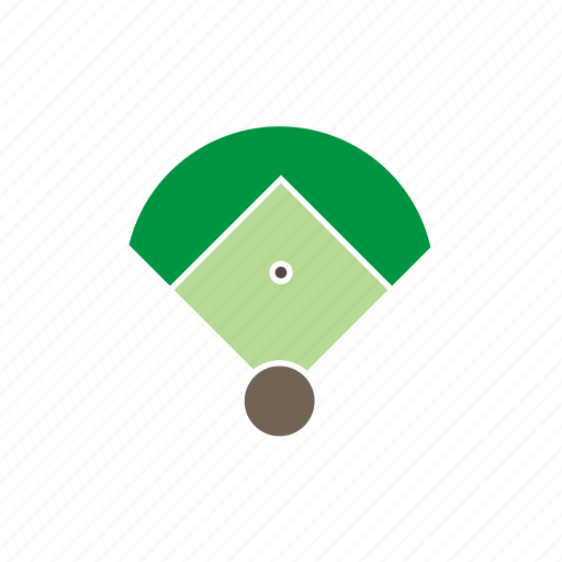 athletic, ball, baseball, field, games, olympic, sport icon