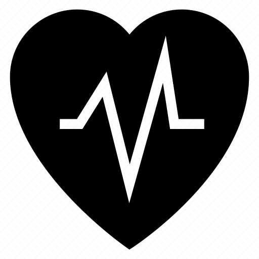 Fitness, heart, heartbeat, heartbeatmonitor, medical, pulsation, pulse icon - Download on Iconfinder