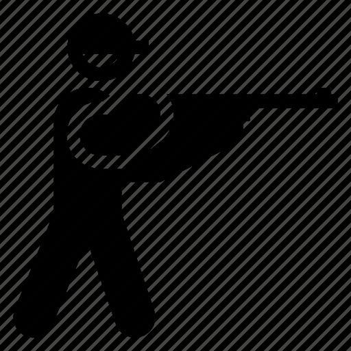 gun, shooter, shooting, shot, shotglass, sniper, target icon