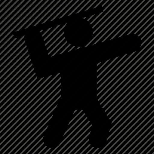 handthrowing, ninja, star, throwaway, throwing, trash, weapon icon