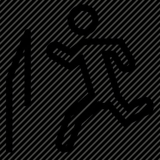 fitness, jogging, run, runner, running, runningman, sports icon