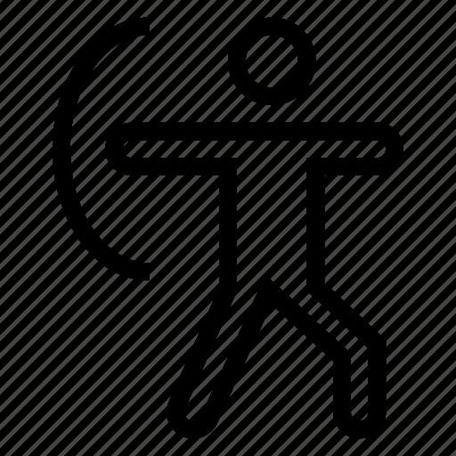 Archery, archerysport, archerytarget, arrow, bow, bullseye, target icon - Download on Iconfinder
