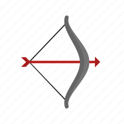 aiming, archer, archery, arrow, bow, shoot, target icon