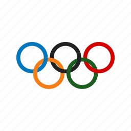 competition, games, match, olympics, rings, sports, winning icon