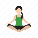 aerobics, exercise, fitness, gym, healthy, sports, yoga icon