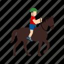 activities, horse rider, jockey, pony, race, riding, sports