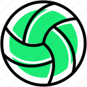 volleyball, ball, sports, sport accessories, game