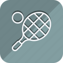 fitness, games, gym, sport, sports, tennis, tennis ball icon