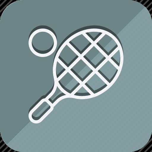 fitness, games, gym, sport, sports, tennis, tennis ball icon
