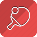 fitness, games, gym, ping pong, sport, sports, table tennies icon