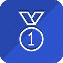 badge, fitness, games, gold medal, gym, sport, sports icon