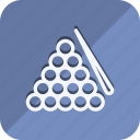ball, billiards, fitness, games, gym, sport, sports icon