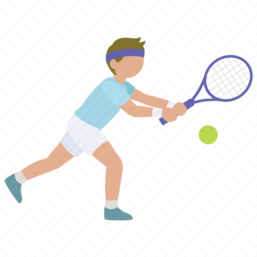 backhand, mens, racquet, rally, return, sports, tennis icon