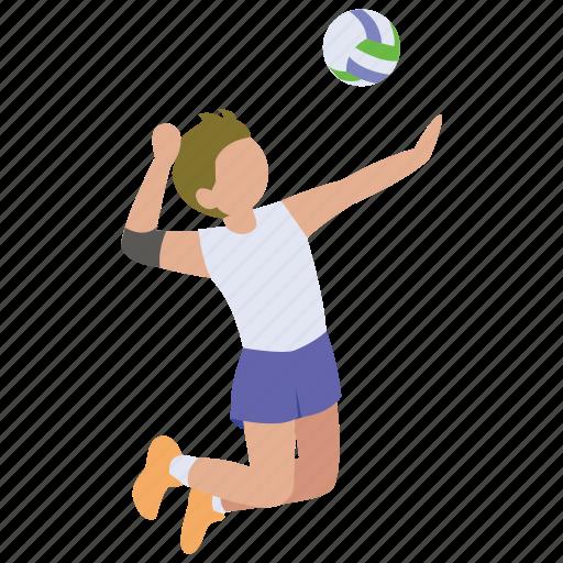 beach, indoor, serve, spike, sport, volley, volleyball icon