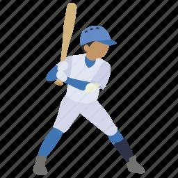 baseball, bat, batter, batting, hit, home run, strike icon