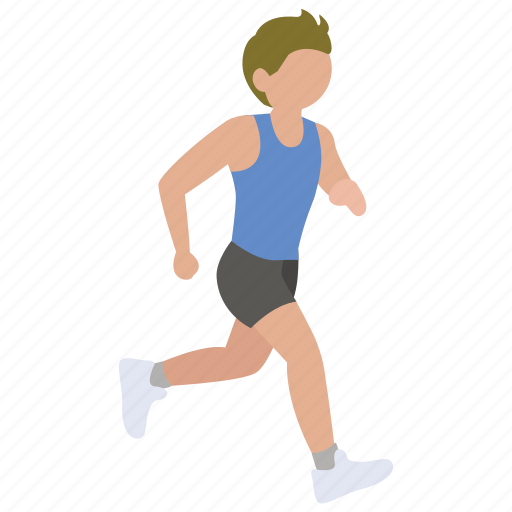 exercise, jog, jogging, race, run, running, sprinting icon