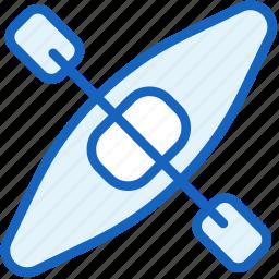 boat, kayak, navigation, sports icon