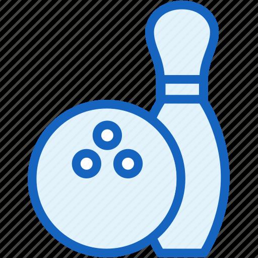 ball, bowling, pins, sports icon