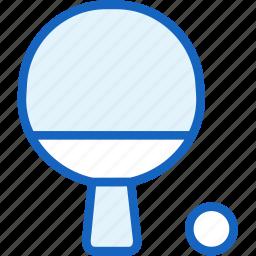 ball, ping, pong, racket, sports, tennis icon
