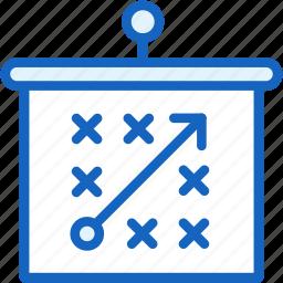 board, map, plan, sports, tactics icon