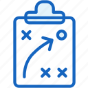 board, map, plan, sports, strategy icon