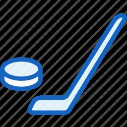 hockey, sports, stick icon