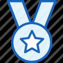 medal, star, achievement, sports icon