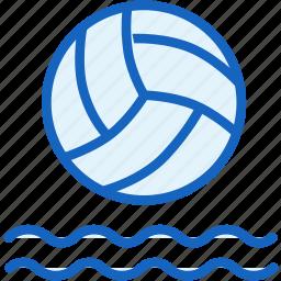 ball, polo, sports, swim, water icon
