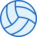 ball, equipment, sports, volleyball