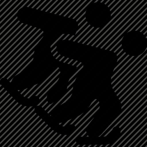 Short, skating, speed, sport, track, olympic, ski icon - Download on Iconfinder
