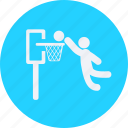 basketball, fitness, football, games, olympics, player, scoring, sports icon