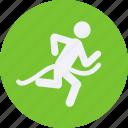 fitness, football, games, olympics, runner, sports, winning icon