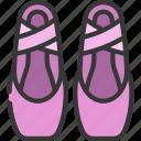 ballet, shoes, sport, activity, performance